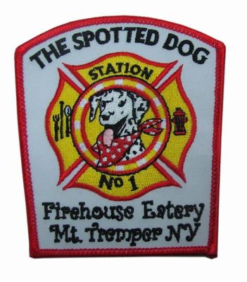 قابل شستشو Twill Fire Rescue Embroidery Patch Merrow Border