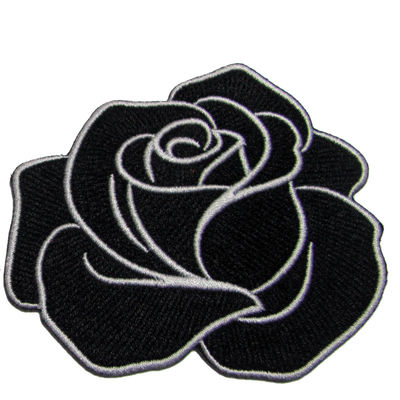 Twill Fabric Heat Cut Border Clothing Embroidery Patches